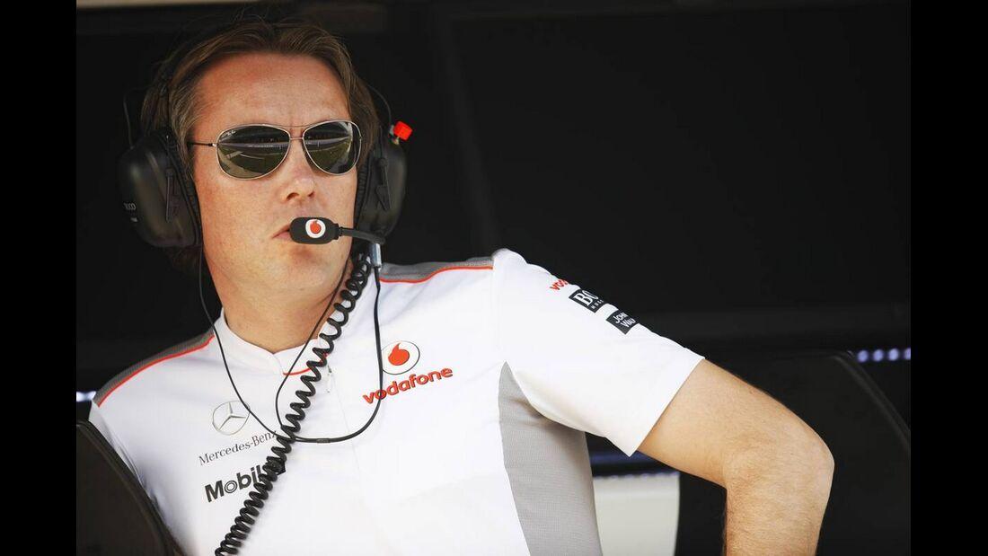 Sam Michael McLaren - Formel 1 - GP Indien - 26. Oktober 2012