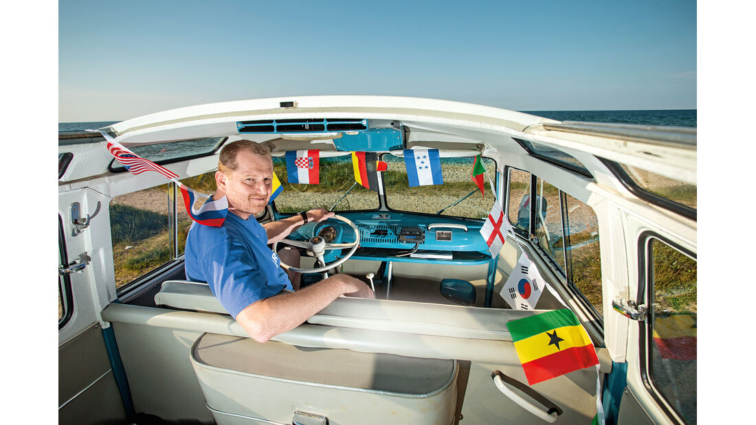 Samba-Bus, Cockpit