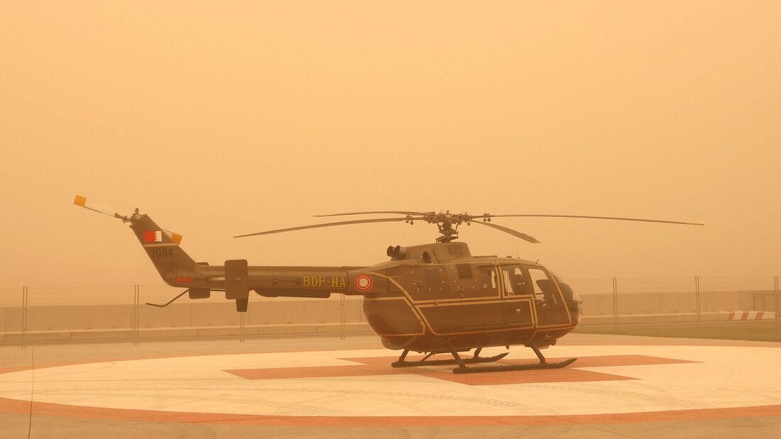 Sandsturm - F1-Test Bahrain 2009