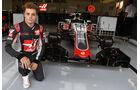 Santino Ferrucci - Haas F1 - Formel 1 - Silverstone-Test - 12. Juli 2016