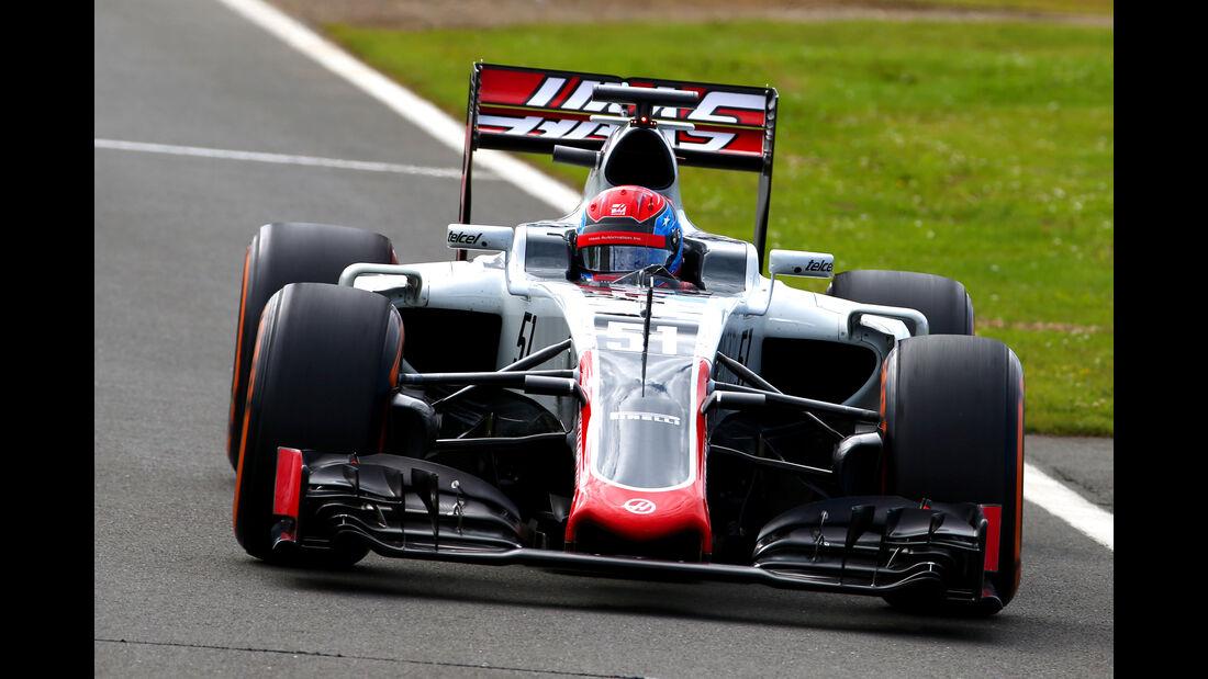 Santino Ferrucci - HaasF1 - Formel 1 - Silverstone-Test - 13. Juli 2016