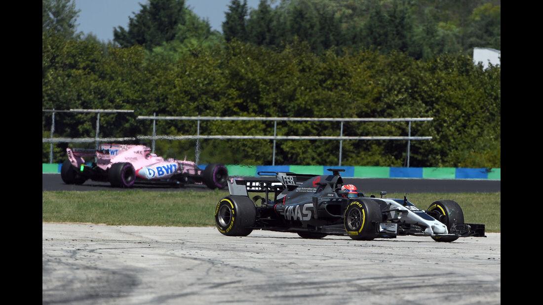 Santino Ferrucci - HaasF1 - Formel 1 - Test - Ungarn - Budapest - 1. August 2017