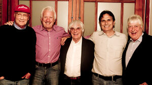 Sao Paulo Dinner 2012 Ecclestone Piquet Whiting Lauda Blash
