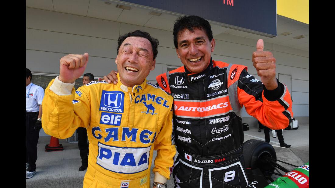 Satoru Nakajima & Aguri Suzuki - Klassiker-Parade - GP Japan 2018