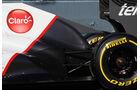 Sauber Auspuff Auspuff Jerez Test 2012