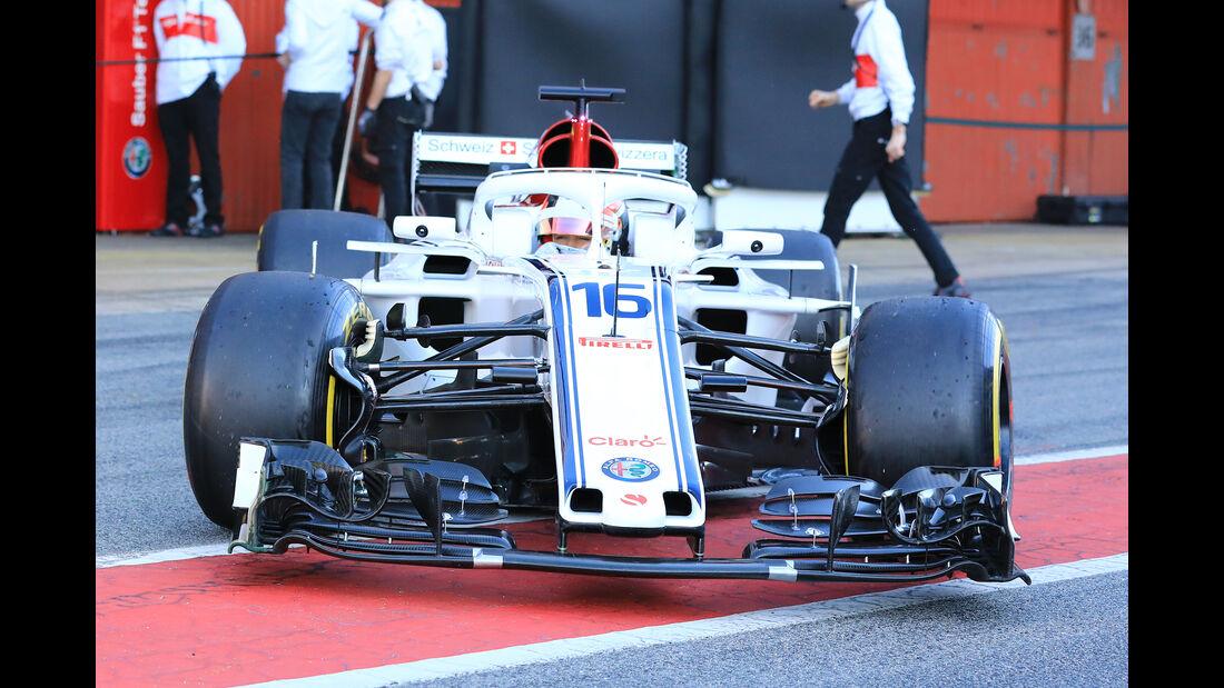 Sauber - Barcelona F1-Test 2018