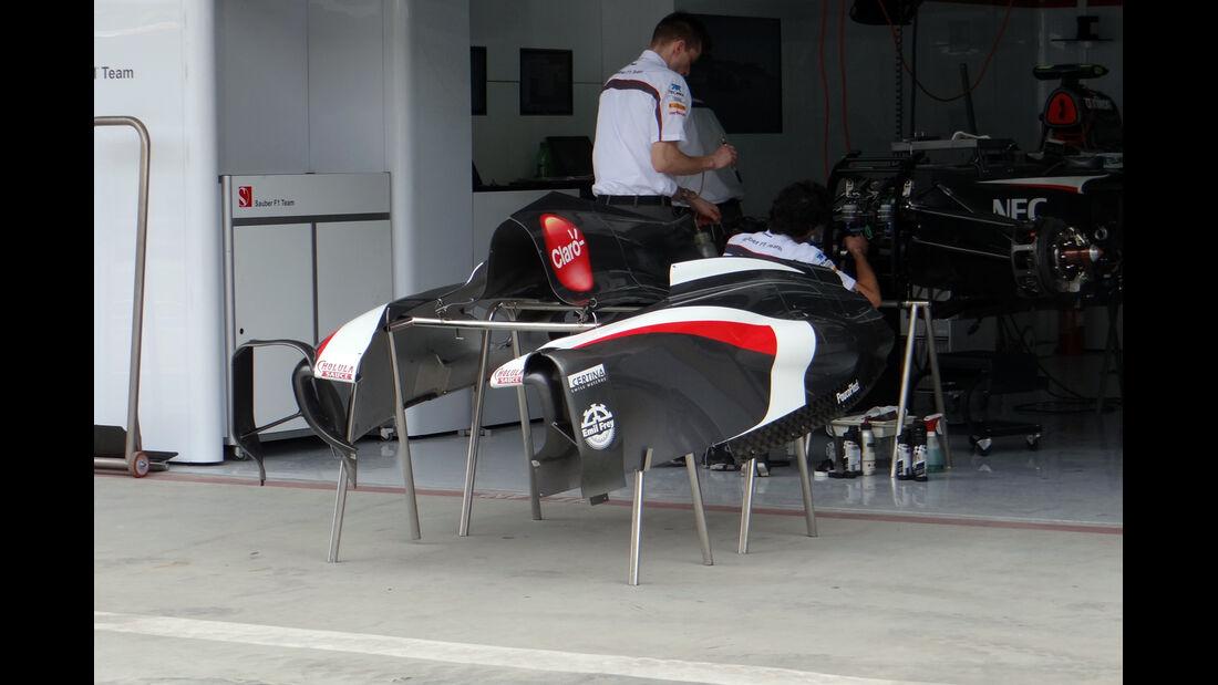 Sauber Bodywork - Formel 1 - GP Bahrain - 18. April 2013
