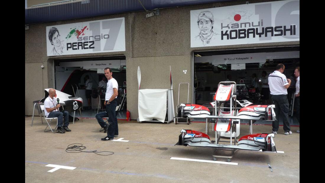 Sauber Box GP Kanada 2011