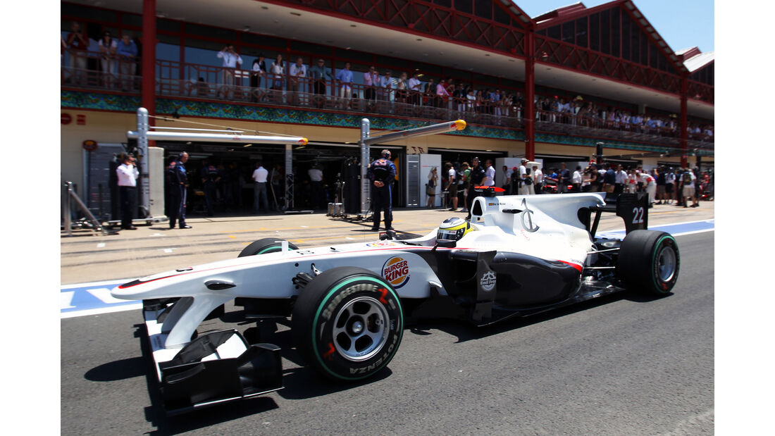 Sauber C29 - Pedro de la Rosa - F1 2010