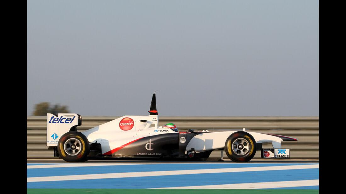 Sauber C30 Perez Test 2011