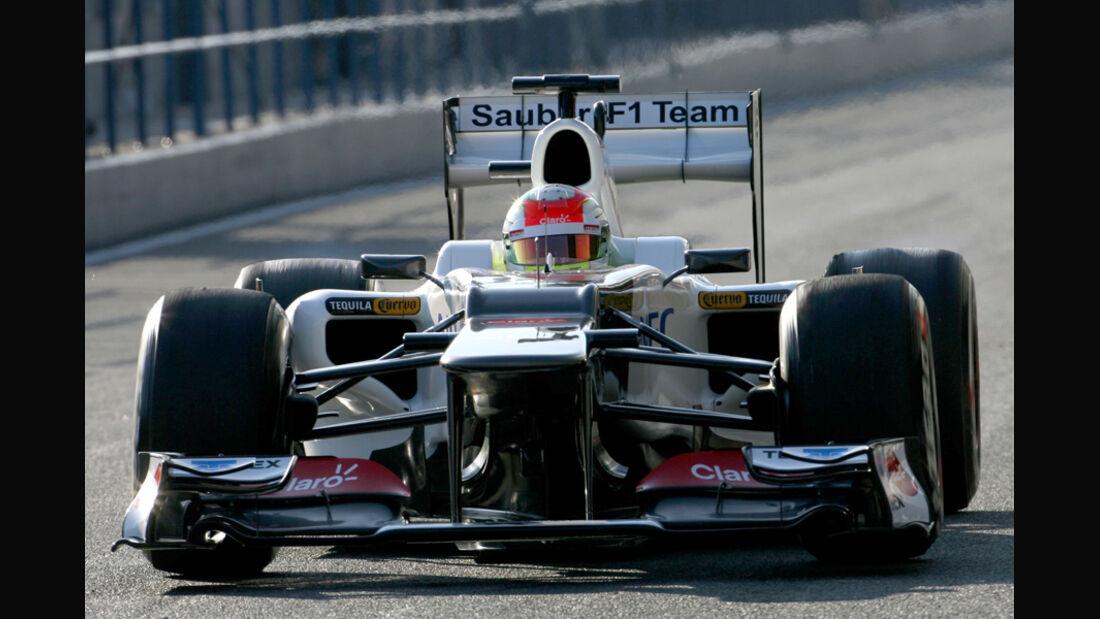 Sauber C31 Formel 1 Jerez 2012