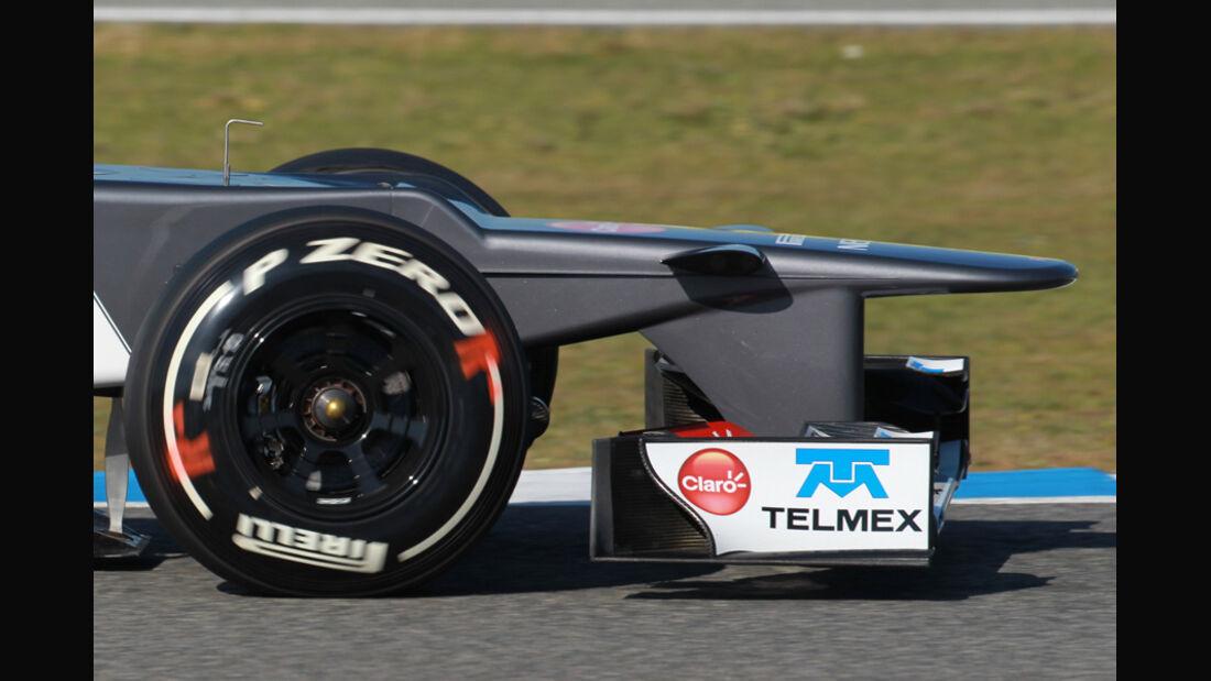 Sauber C31 Formel 1 Nase Jerez 2012