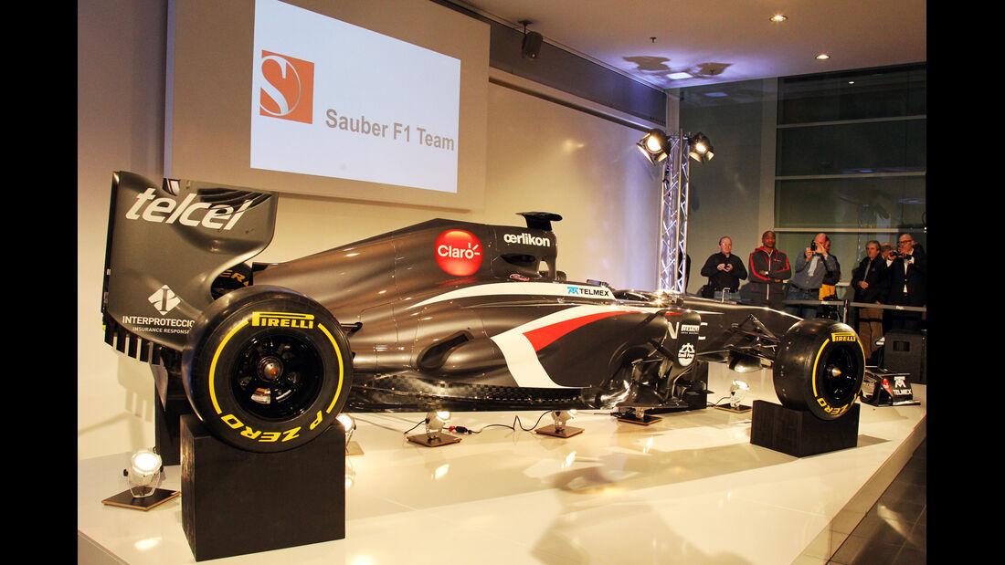 Sauber C32 Präsentation 2013