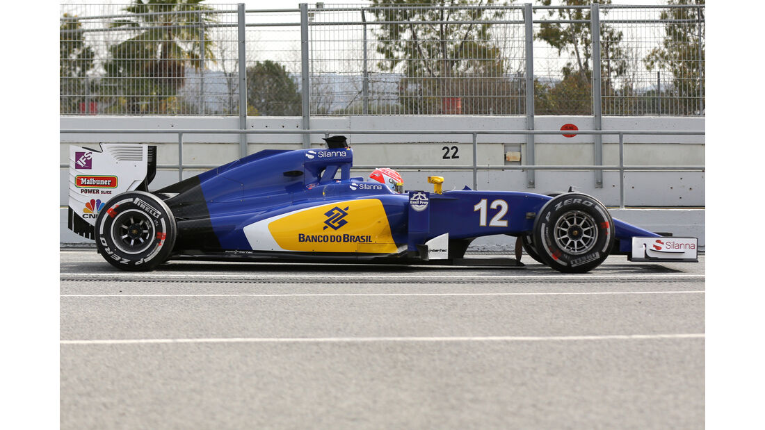 Sauber C35 - F1 2016 - Profil