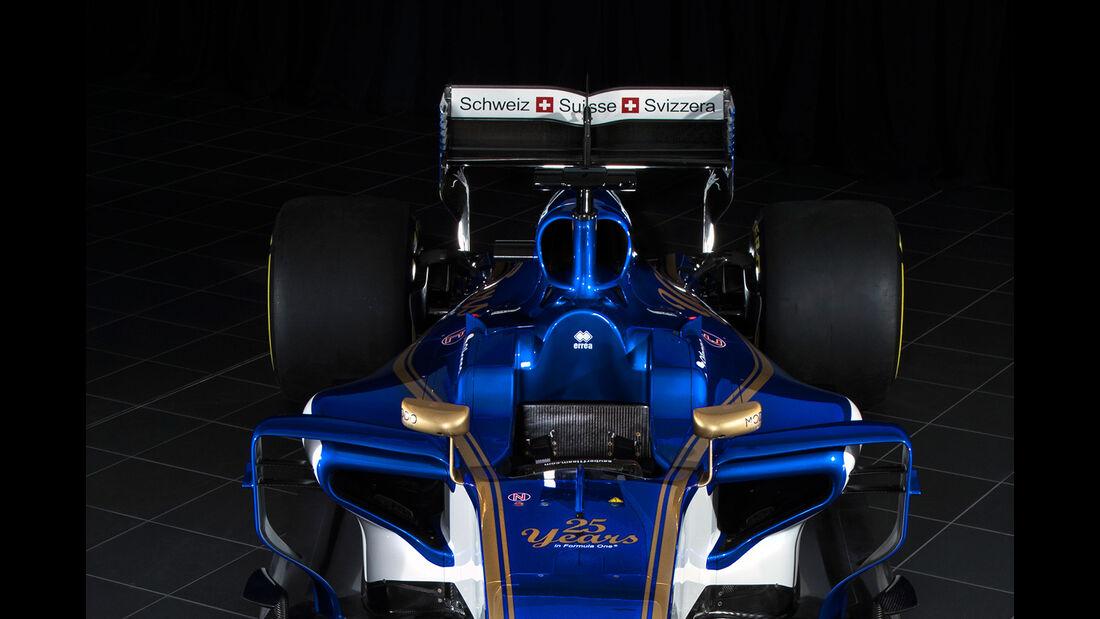 Sauber C36-Ferrari - Formel 1 2017 - F1 - Rennwagen
