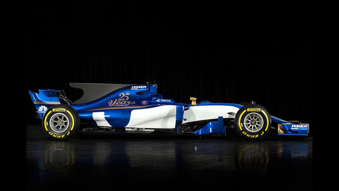 Sauber C36-Ferrari - Formel 1 2017 - Rennwagen