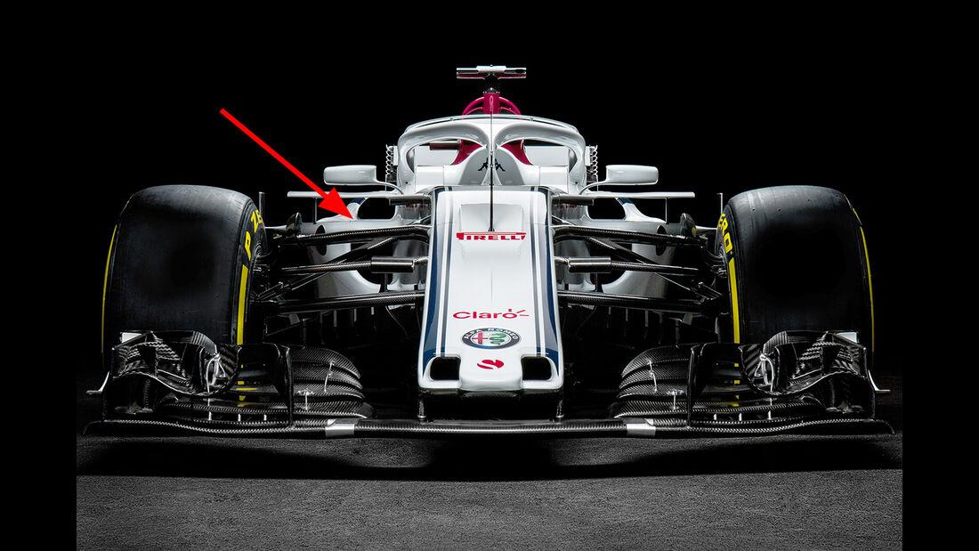 Sauber C37 - F1 2018