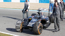 Sauber - Crash - Formel 1 - Test - Jerez - 2014