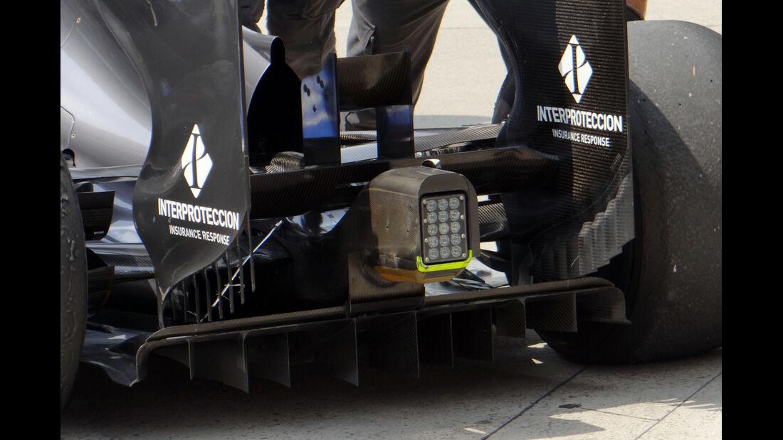 Sauber Diffusor - Formel 1 - GP China - 12. April 2013