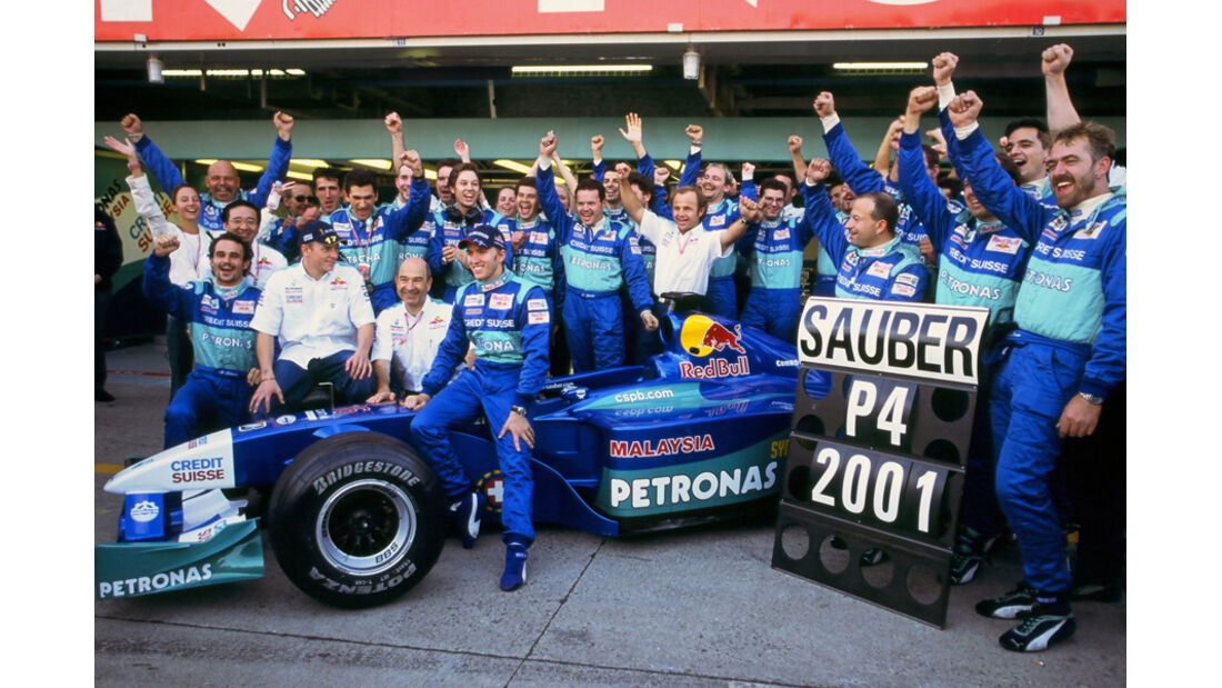 Sauber F1 2001
