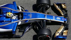 Sauber - F1-Abmessungen - 07/2017