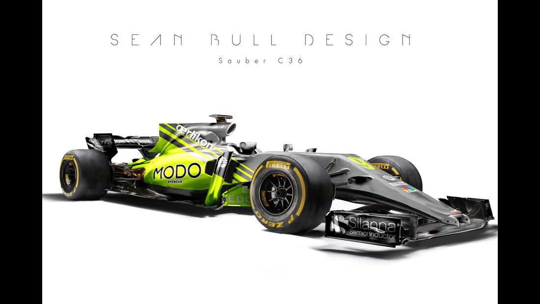 Sauber - F1-Designs 2017 - Sean Bull - Formel 1