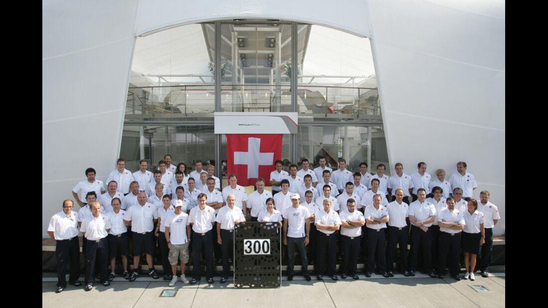 Sauber F1 Jubiläum