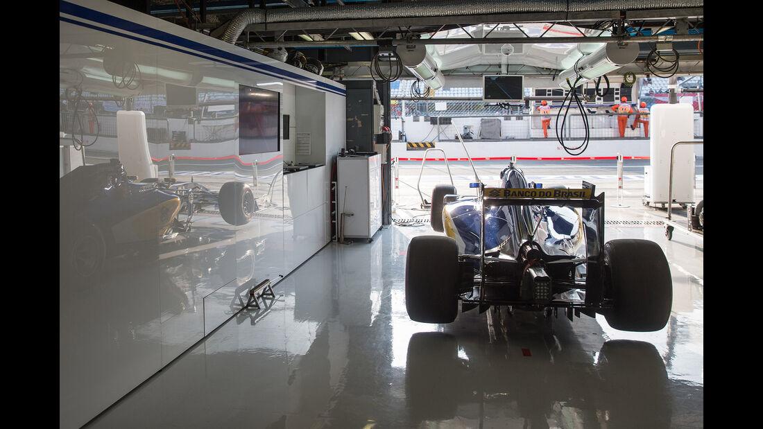 Sauber - F1-Logistik - 2016
