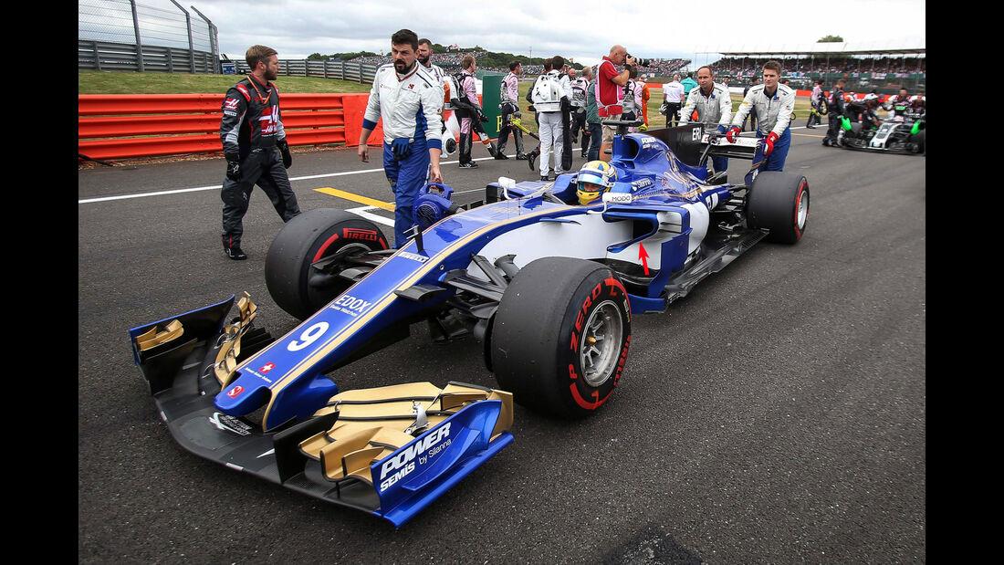 Sauber - F1-Technik - GP England 2017 - Formel 1