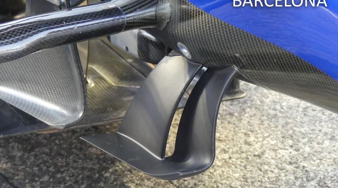 Sauber - F1-Technik - GP Monaco 2017