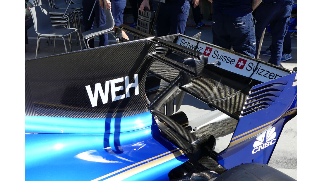 Sauber - F1-Technik - GP Ungarn 2017 - Formel 1
