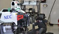 Sauber F1 Test 2012