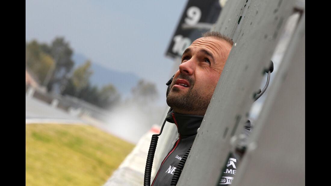 Sauber F1 Test Barcelona 2013