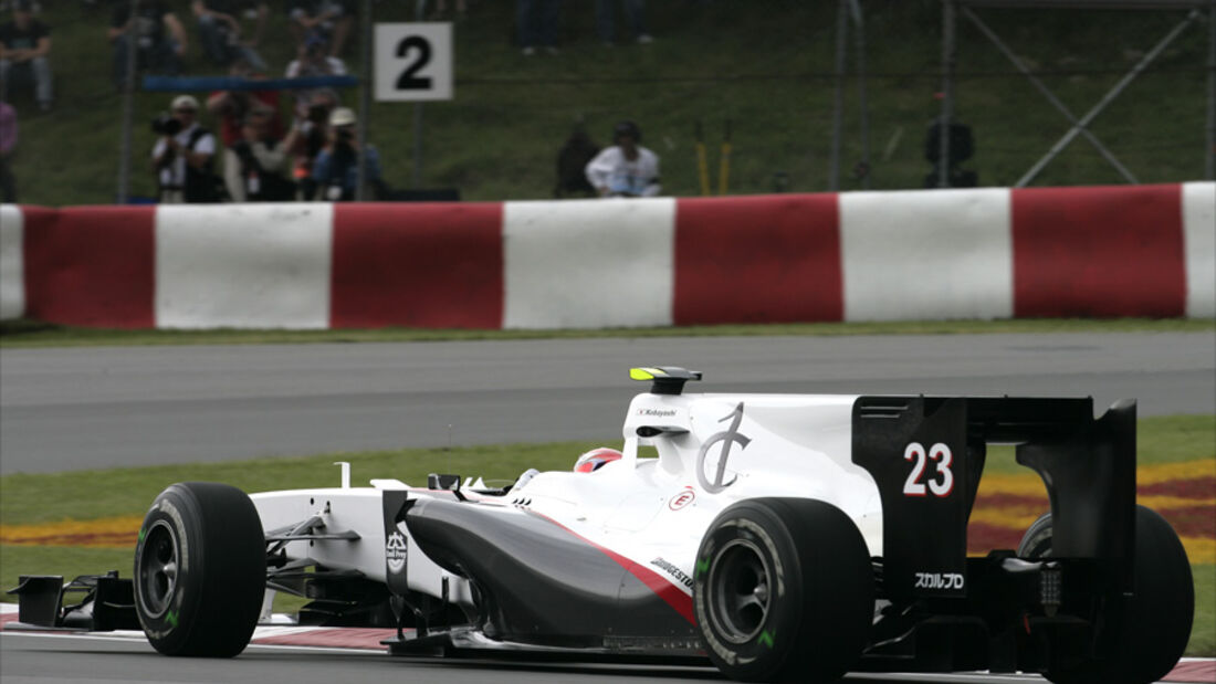 Sauber F1 mit Club One Logo