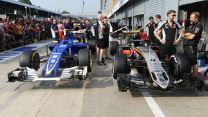 Sauber & Force India - Formel 1 - GP Italien - Monza - 1. September 2016