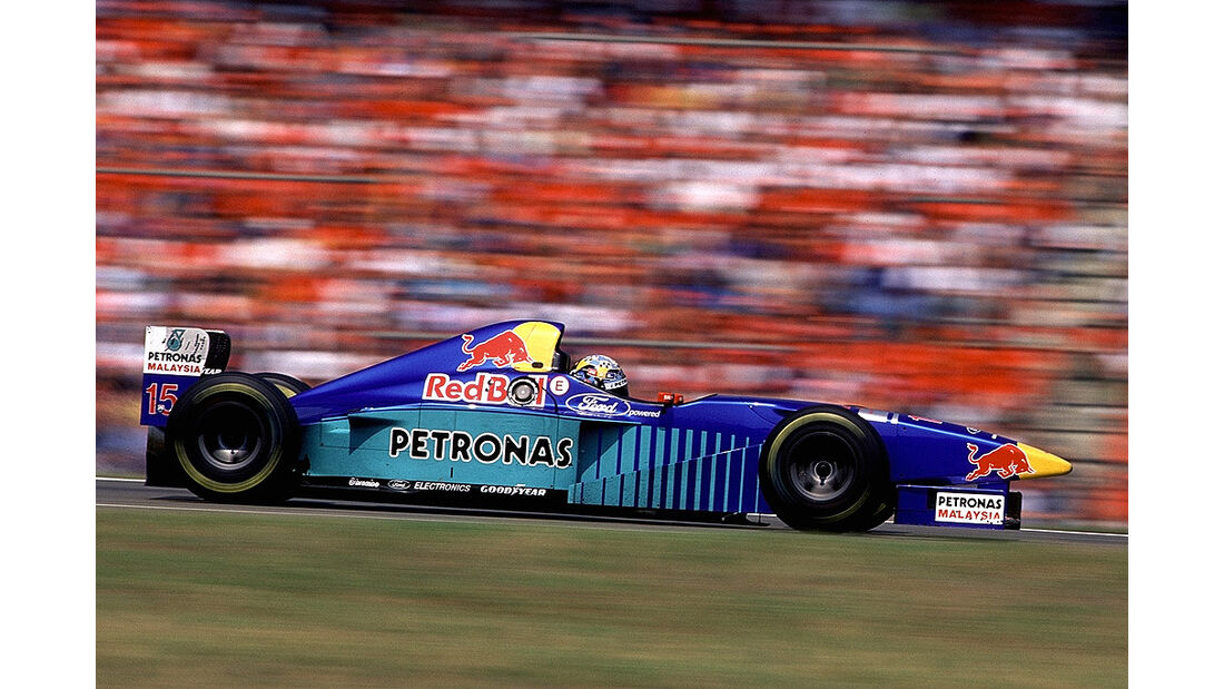 Sauber Ford Red Bull 1996