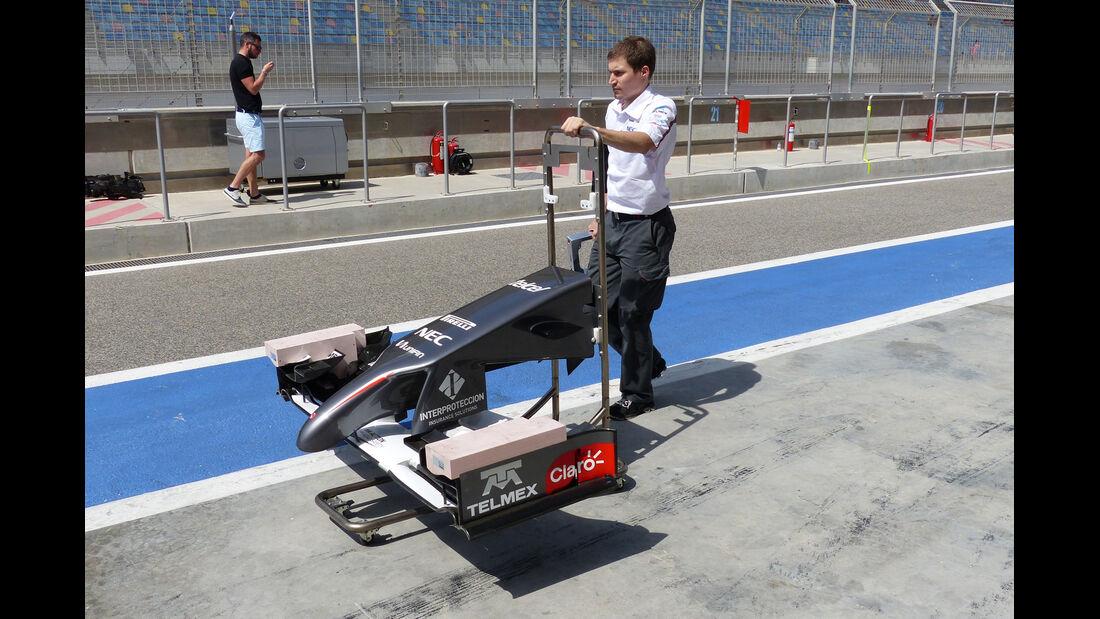 Sauber - Formel 1 - Bahrain - Test - 1. März 2014