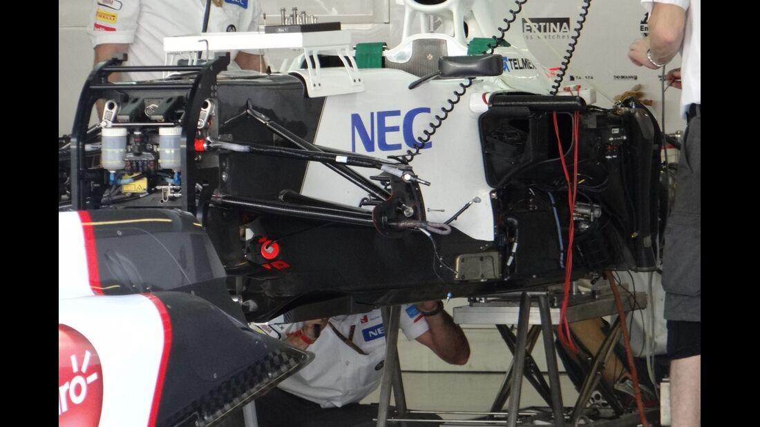 Sauber  - Formel 1 - GP Abu Dhabi - 01. November 2012