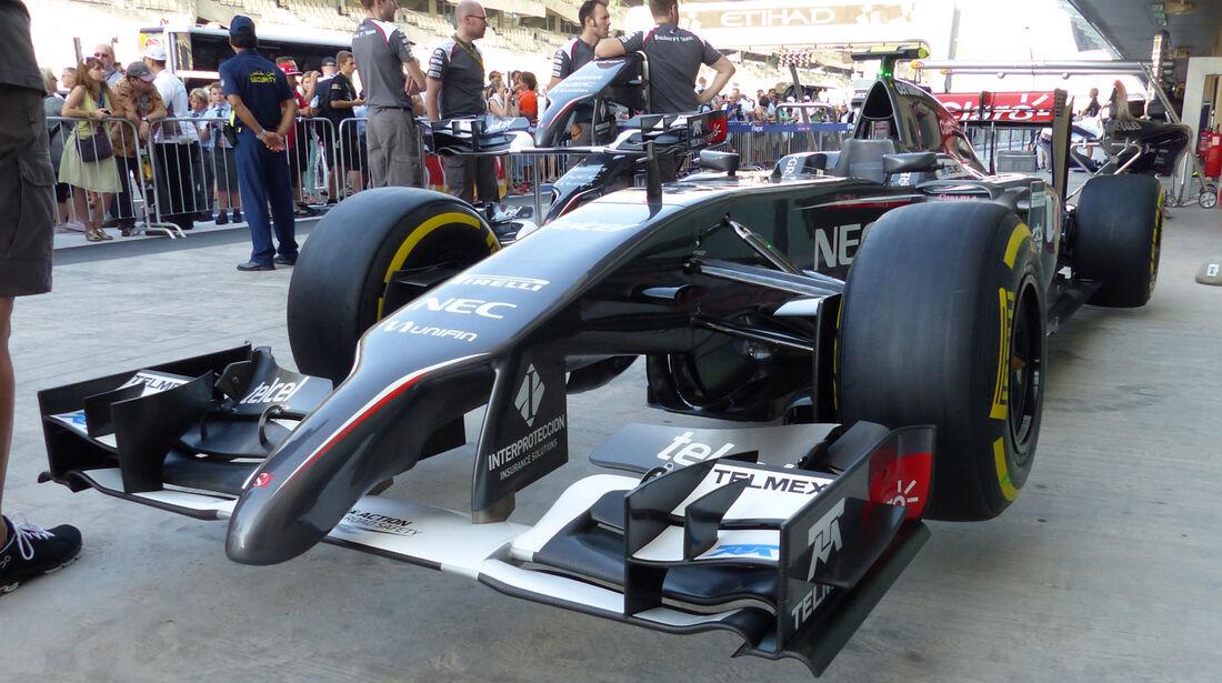 Sauber - Formel 1 - GP Abu Dhabi - 20. November 2014