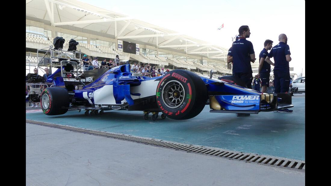 Sauber - Formel 1 - GP Abu Dhabi - 23. November 2017