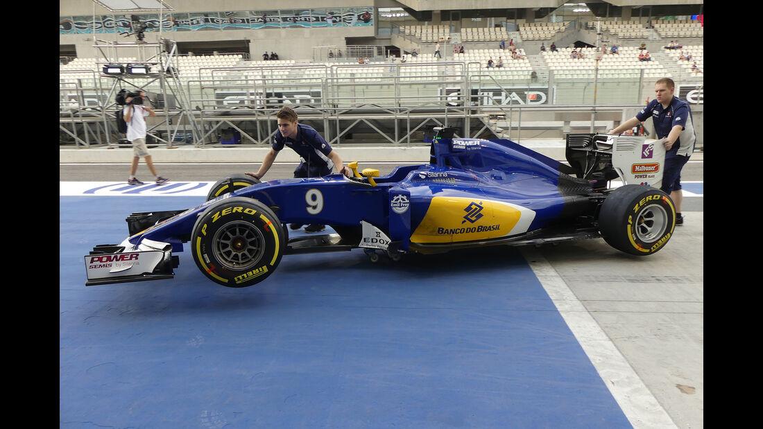 Sauber - Formel 1 - GP Abu Dhabi - 24. November 2016