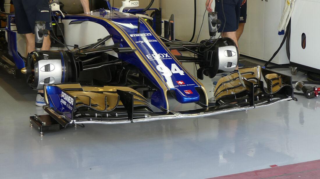 Sauber - Formel 1 - GP Abu Dhabi - 24. November 2017