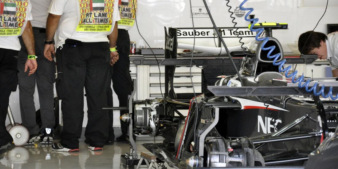 Sauber  - Formel 1 - GP Abu Dhabi - 31. Oktober 2013