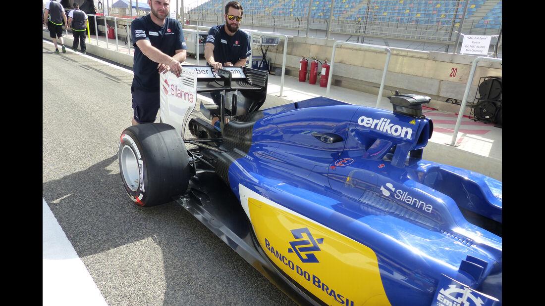Sauber - Formel 1 - GP Bahrain - 16. April 2015