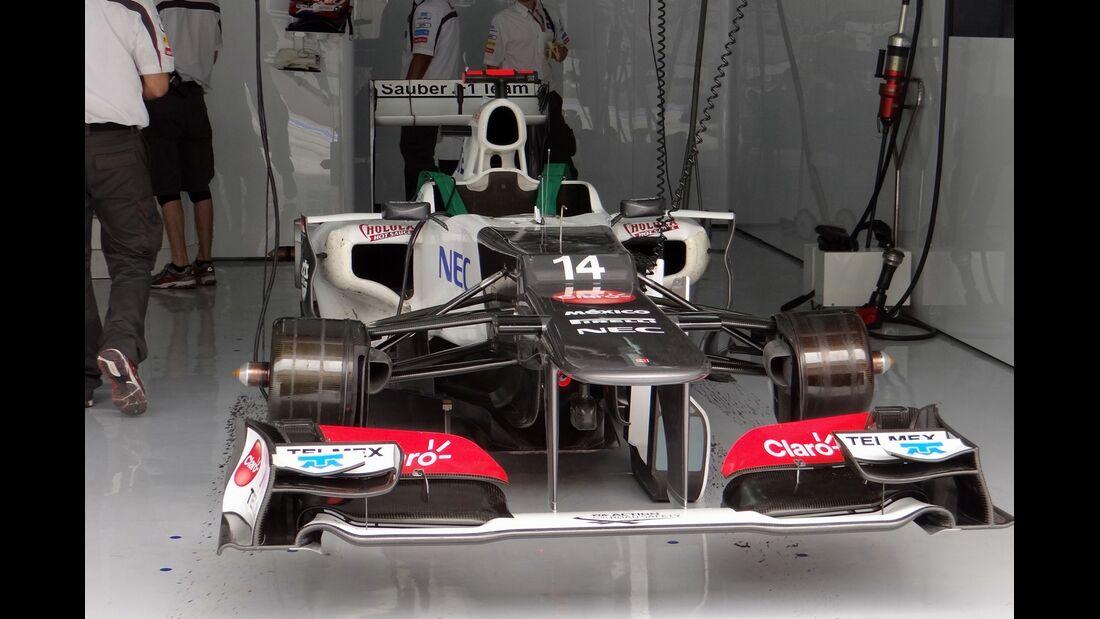 Sauber - Formel 1 - GP Bahrain - 20. April 2012