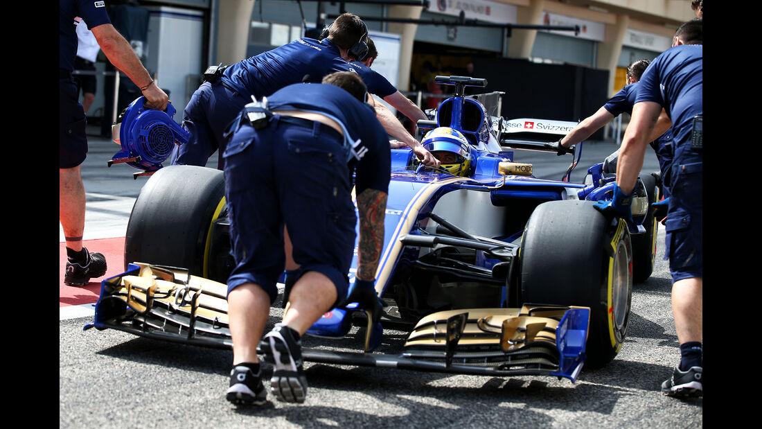 Sauber - Formel 1 - GP Bahrain 2017
