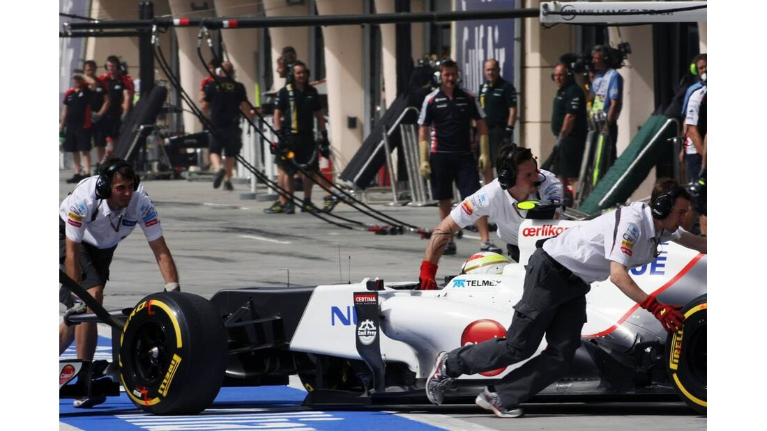 Sauber - Formel 1 - GP Bahrain - 21. April 2012