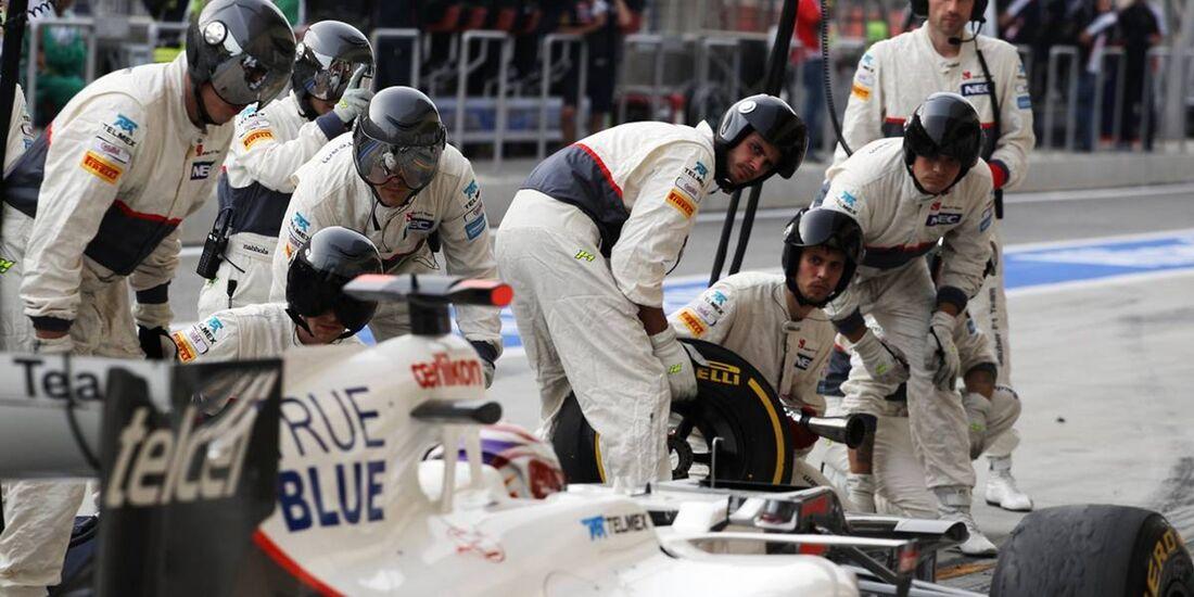 Sauber  - Formel 1 - GP Bahrain - 22. April 2012