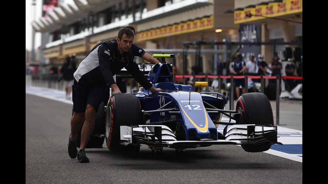 Sauber - Formel 1 - GP Bahrain - 31. März 2016