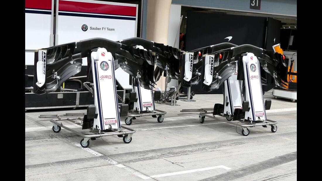 Sauber - Formel 1 - GP  Bahrain - 4. April 2018